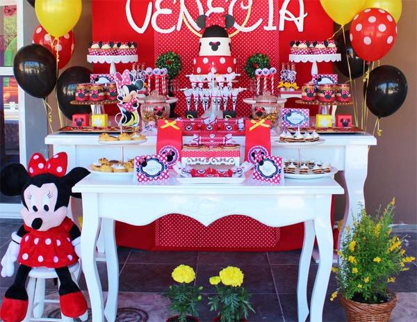 Festa infantil Minnie