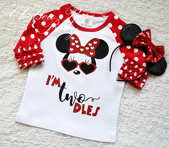 Roupas infantis inspiradas na Minnie
