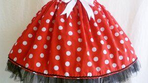 Roupas infantis inspiradas na Minnie Mouse