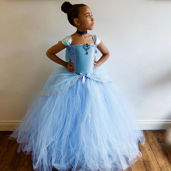 vestido cinderela roupas infantil feminina