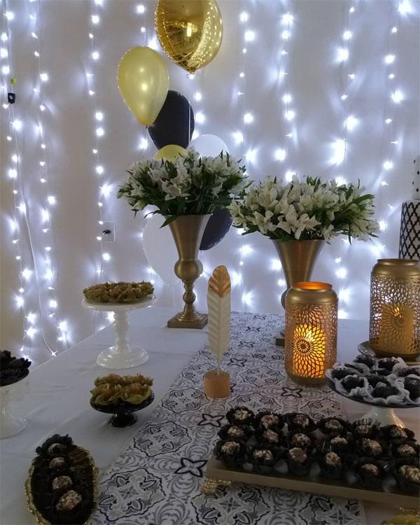 Festa de um ano simples