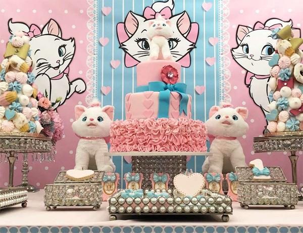 Festa infantil gata Marie
