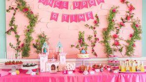 festa infantil princesas