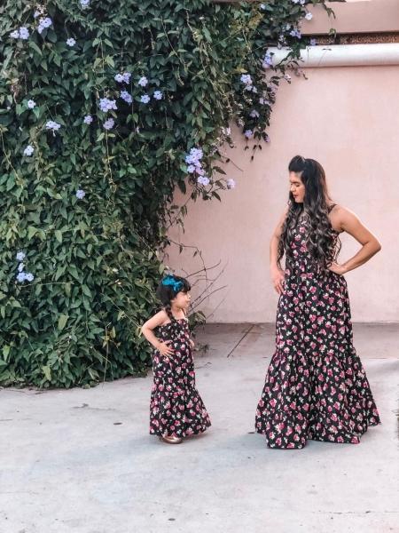 Vestidos longos para criança